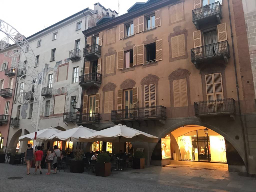 CENTRO STORICO, CUNEO, Apartment for rent of 90 Sq. mt., Good condition, Heating Centralized, Energetic class: D, placed at 2° on 3, composed by: 4