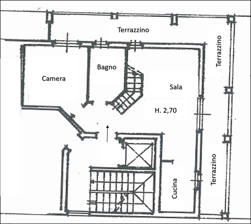 Planimetria 5° Piano