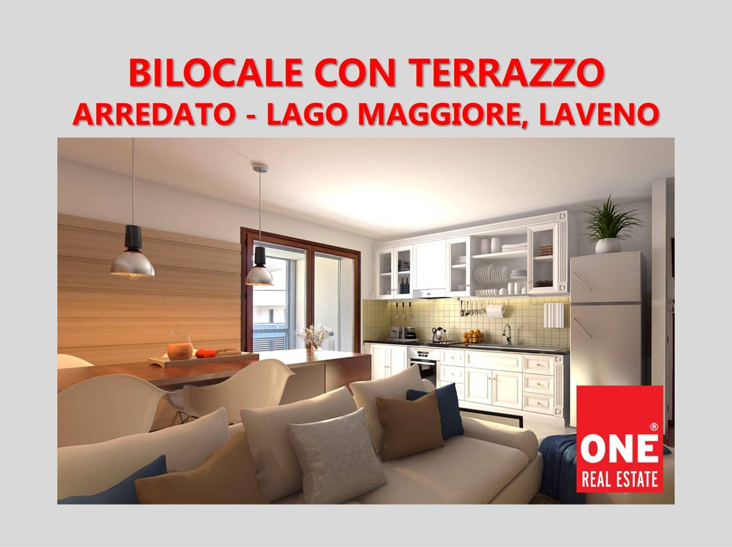Appartamento in vendita a Laveno-Mombello, 2 locali, zona Località: LAVENO, prezzo € 150.000   PortaleAgenzieImmobiliari.it