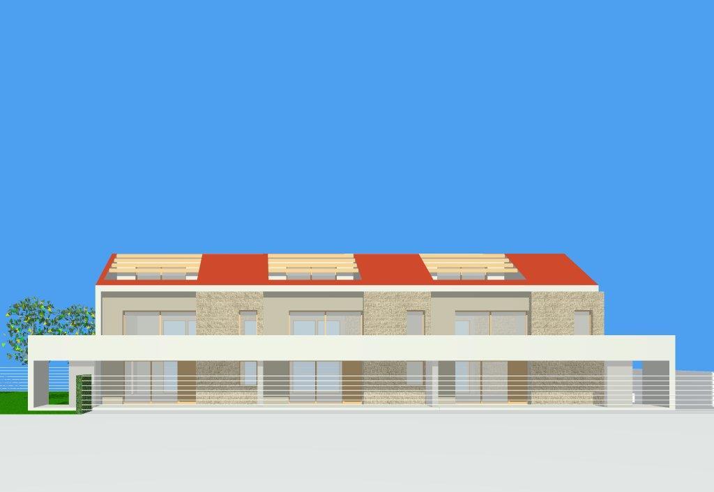 Vendita villa a schiera lentini piano terra for Garage autonomo