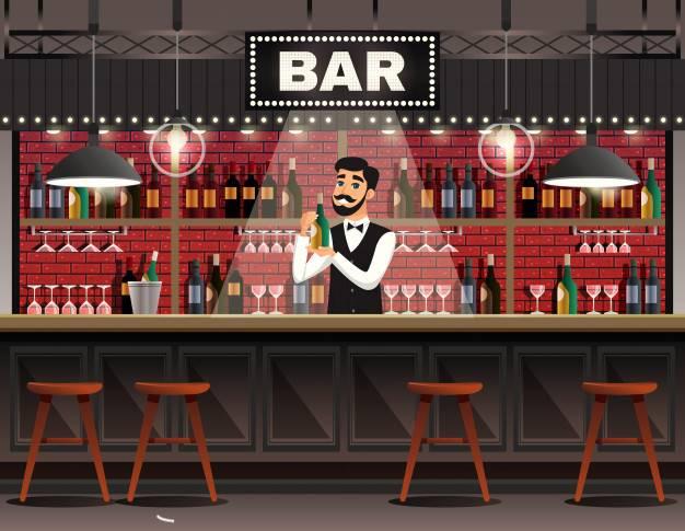 Rif. 2878A SOTTOMARINA CENTRO - Affitto d'azienda bar centralissimo in zona di forte passaggio a pochi passi dal mare, locale completamente