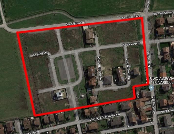 Terreno Edificabile Residenziale in vendita a Campagnola Cremasca, 9999 locali, zona Località: CASCINA COLOMBARA, prezzo € 74.000 | CambioCasa.it