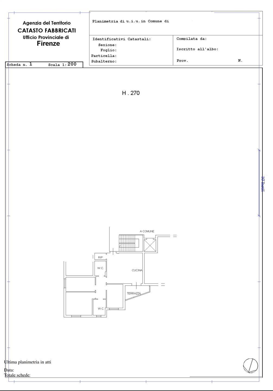 Plan catastale - Rif. 1/0066