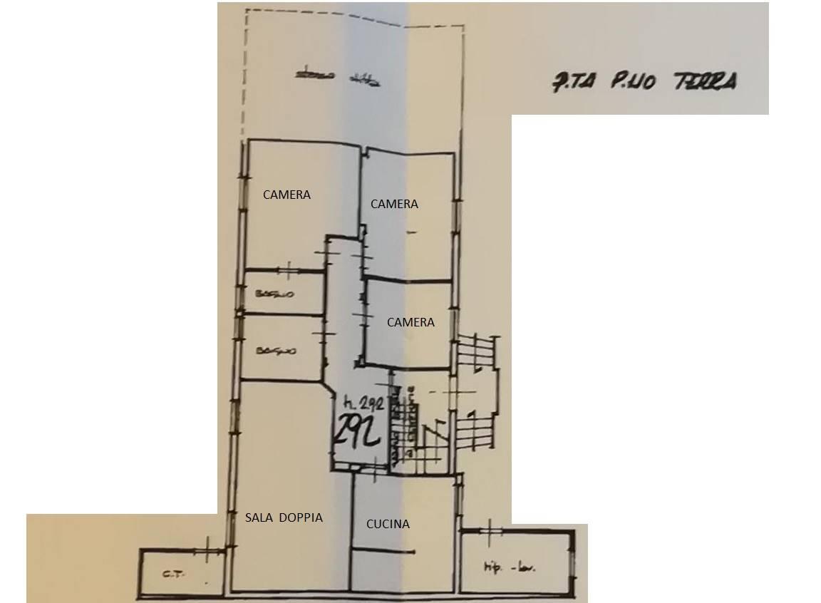 Pianta piano terra - Rif. 2/0034
