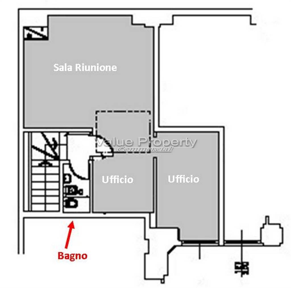 Planimetria Piano 1° - Rif. LR-VOGH-01