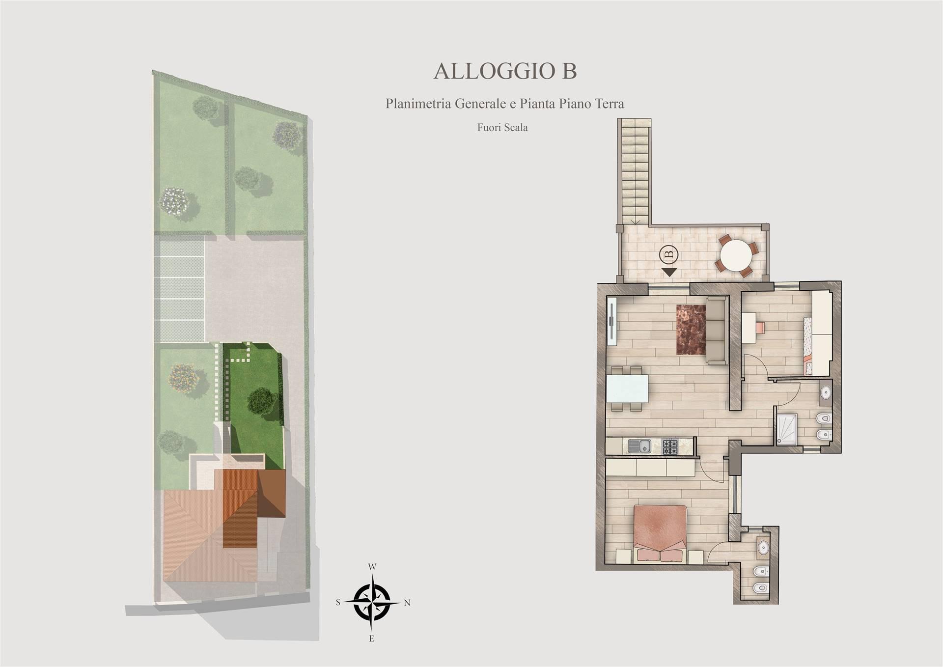 Appartamento in vendita a Suvereto, 3 locali, prezzo € 186.000 | CambioCasa.it