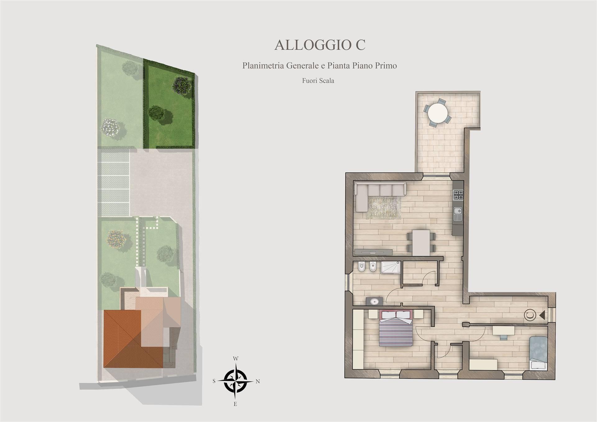 Appartamento in vendita a Suvereto, 3 locali, prezzo € 185.000 | CambioCasa.it