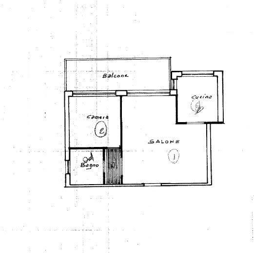 planimetria catastale - Rif. 1-881 COD.6