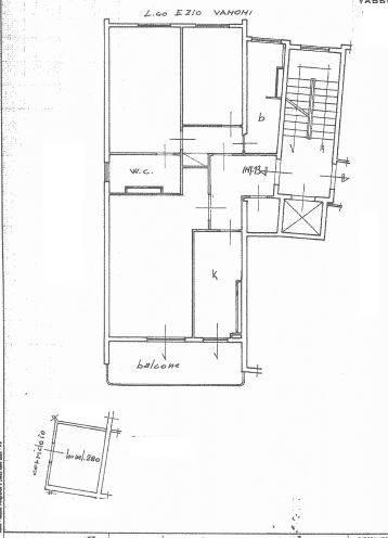 Planimetria catastale - Rif. 1-901