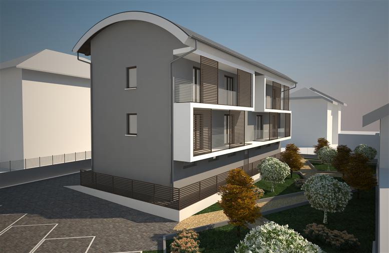 Quadrilocale, Montalto Dora, in nuova costruzione