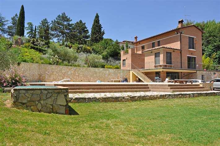 Villa, Siena, seminuova