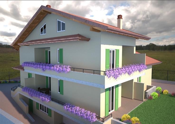 Nuova costruzione in Via Falcone e Borsellino, Cardano Al Campo