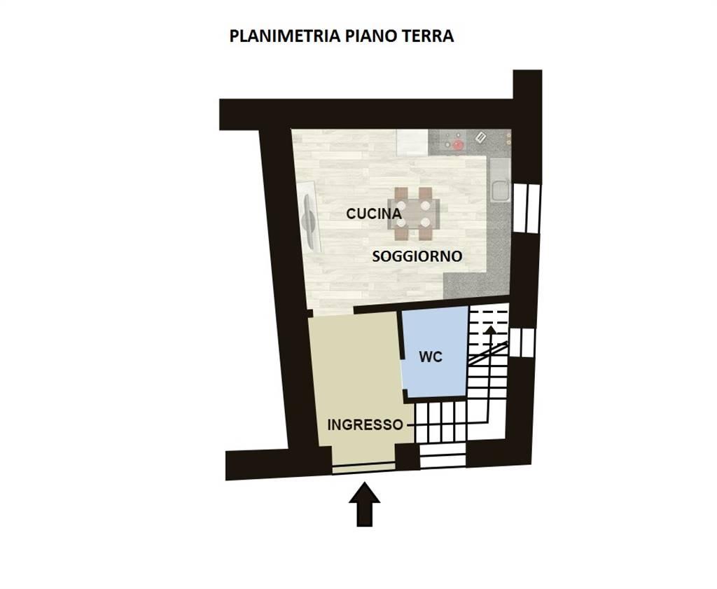 Appartamento in vendita a Marcellinara, 3 locali, zona Zona: Licari, prezzo € 30.000   CambioCasa.it