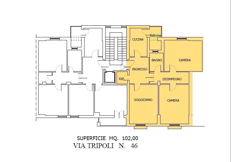 Quadrilocale, Empoli, abitabile