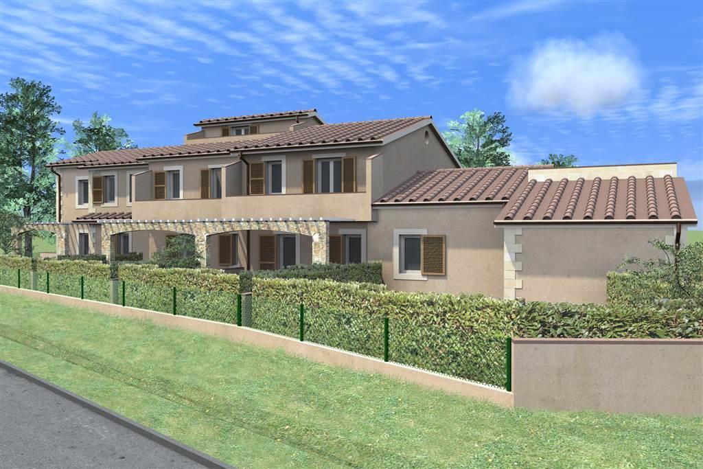 Villa a schiera, Santa Colomba, Bientina, in nuova costruzione