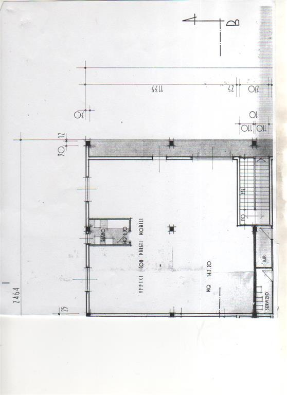 NOSTRA ESCLUSIVA: La Fontina in zona con ottima visibilità, luminoso fondo uso ufficio di 140mq situato al 1^ ed ultimo piano, accesso indipendente
