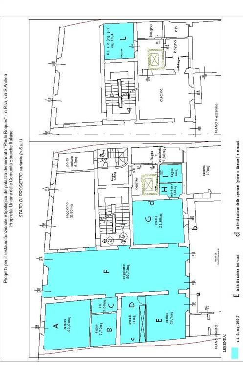 Appartamento in Via Sant'andrea 44, Pisa