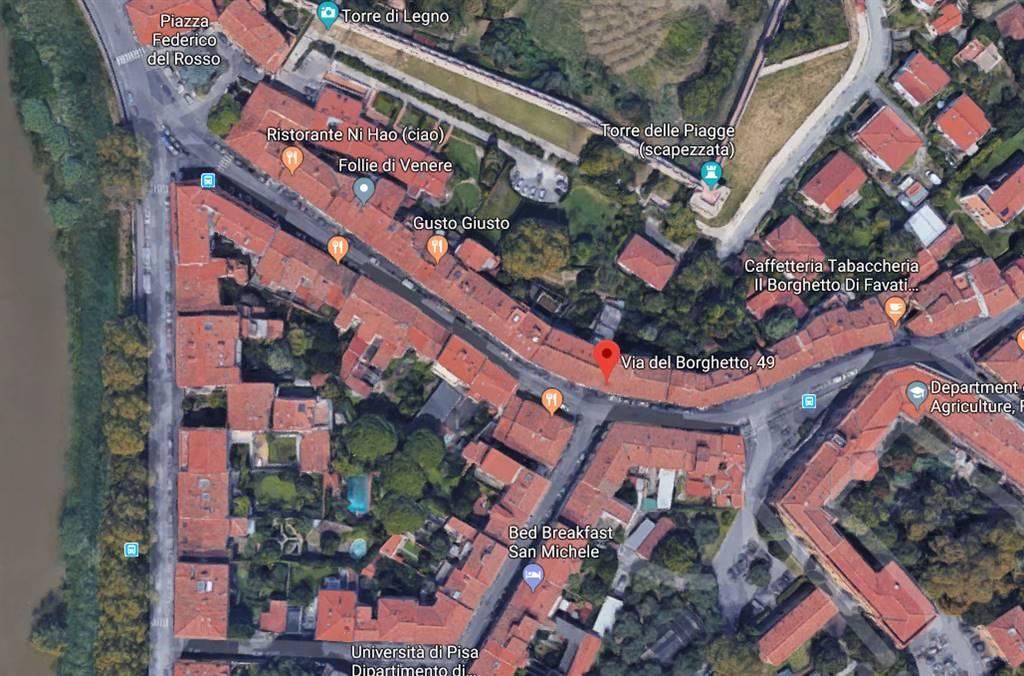 Locale commerciale, Lungarni, Pisa, abitabile