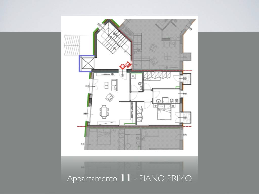 LUNGARNI, PISA, Apartment for sale of 78 Sq. mt., New construction, Heating Centralized, Energetic class: A, Epi: 2 kwh/m2 year, placed at 1° on 4,