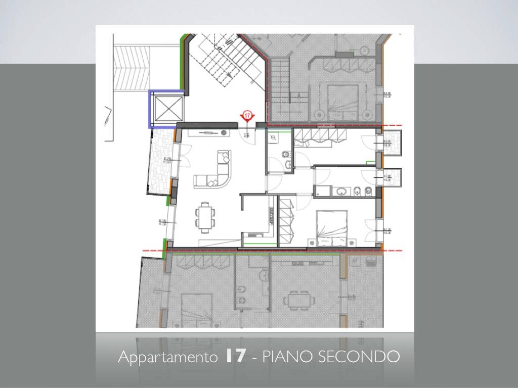 LUNGARNI, PISA, New construction for sale of 78 Sq. mt., New construction, Heating Centralized, Energetic class: A, Epi: 2 kwh/m2 year, placed at 2°