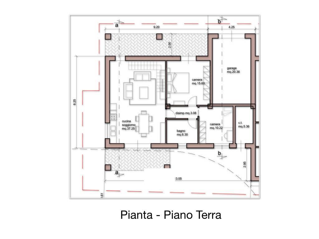San Giuliano Terme terreno edificabile per realizzare villa singola dalla superficie di 100 metri quadrati al piano terra oltre al garage di 20 metri