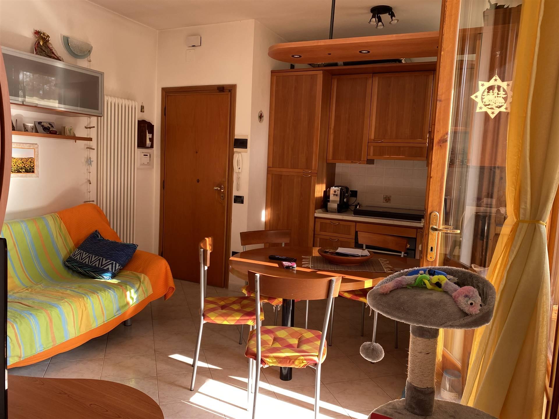 TIRRENIA, PISA, Квартира на продажу из 55 Км, Класс энергосбережения: G, на земле 1°, состоит из: 3 Помещения, Кухонька, 2 Комнаты, 1 Ванные, Балкон,