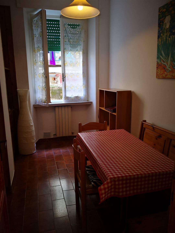 AFFITTASI appartamento ammobiliato posto al piano rialzato di una strada a fondo chiuso e composto da ingresso corridoio, tinello, cucinotto, balcone