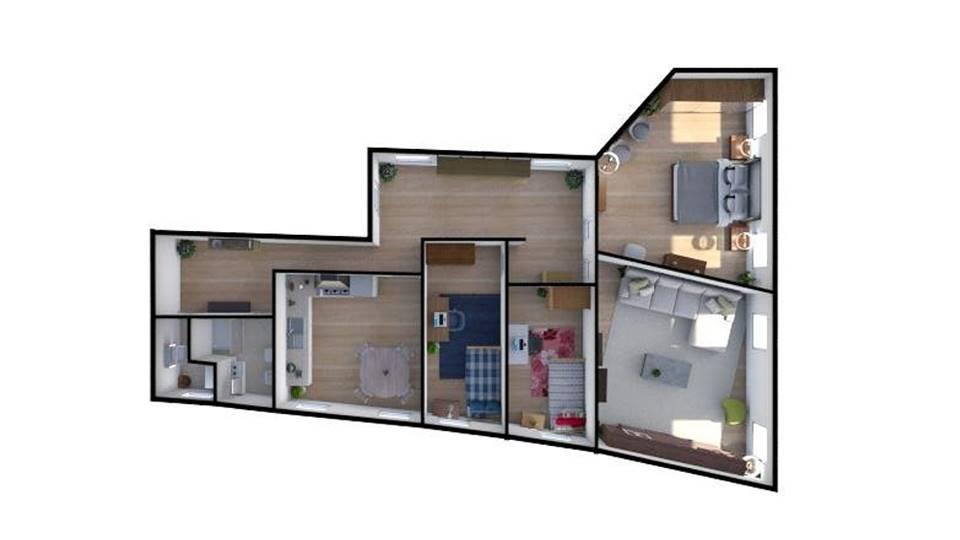 DORSODURO, VENEZIA, Квартира на продажу из 123 Км, Класс энергосбережения: G, состоит из: 5 Помещения, 3 Комнаты, 2 Ванные, Цена: € 495 000