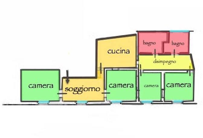 Appartamento, Centro Storico, Pisa