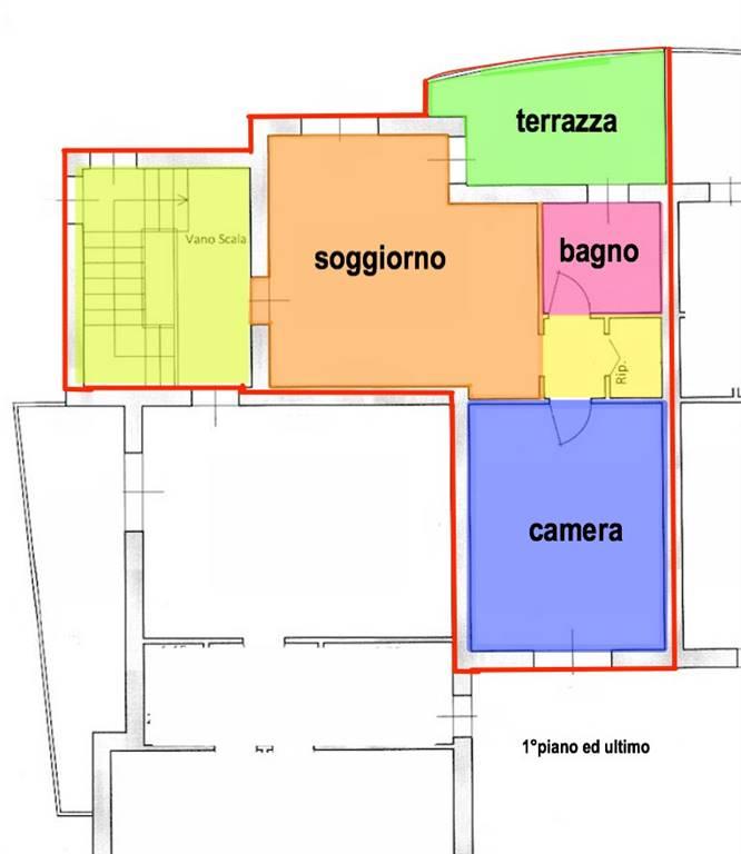 Bilocale, Fornacette, Calcinaia, in nuova costruzione