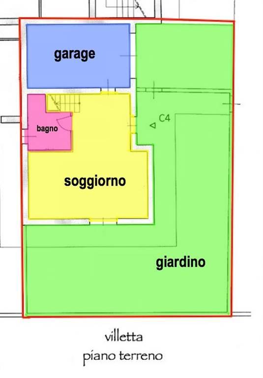 Villa a schiera, Fornacette, Calcinaia, in nuova costruzione