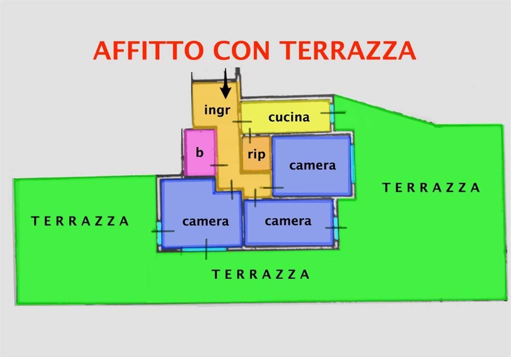 Quadrilocale, Zona Pratale,don Bosco, Pisa, in ottime condizioni