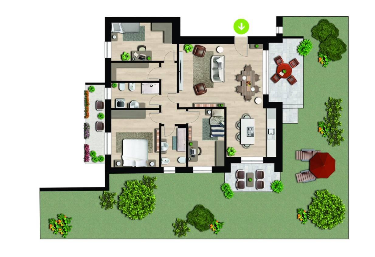 Vendita Quadrilocale Appartamento Appiano Gentile 258906