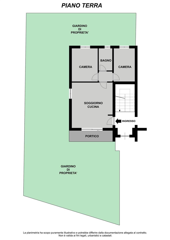 Planimetria_Appartamento e Giardino