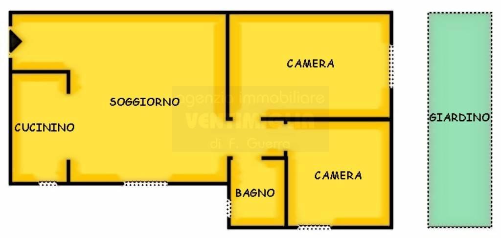 Appartamento in vendita a Ventimiglia, 3 locali, prezzo € 159.000 | CambioCasa.it