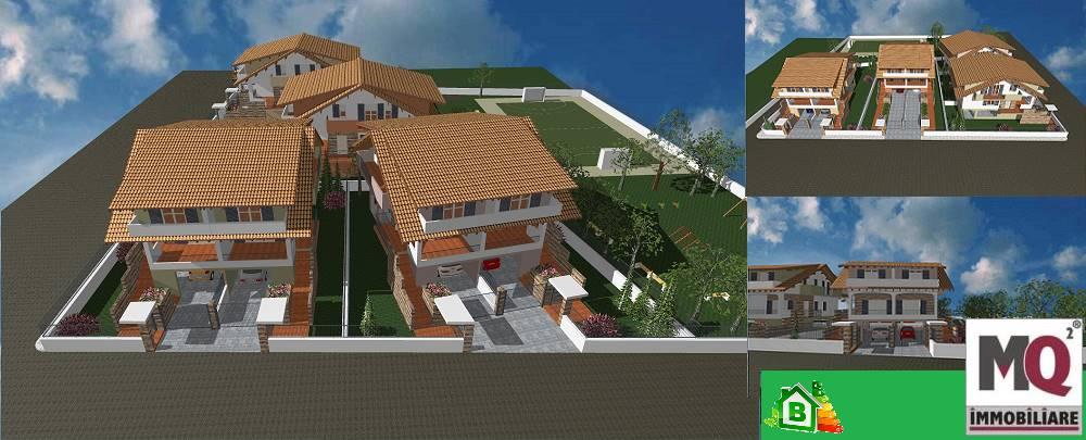 Villa, Cancello Ed Arnone, in nuova costruzione