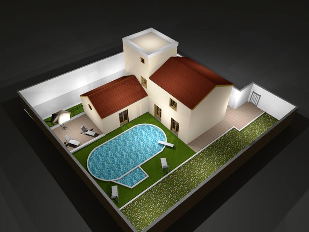 Villa, Rodano, seminuova