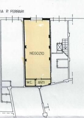 Negozio / Locale in affitto a Modena, 1 locali, zona Zona: Prossimità centro, prezzo € 500 | CambioCasa.it