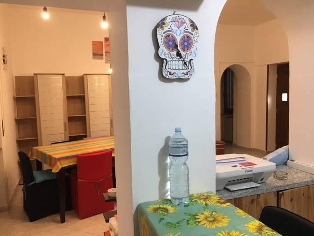 sala vista dalla cucina