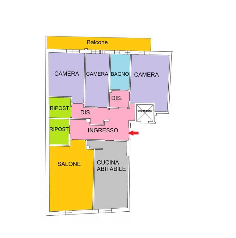 Appartamento in vendita a Lugo, 7 locali, prezzo € 125.000 | CambioCasa.it