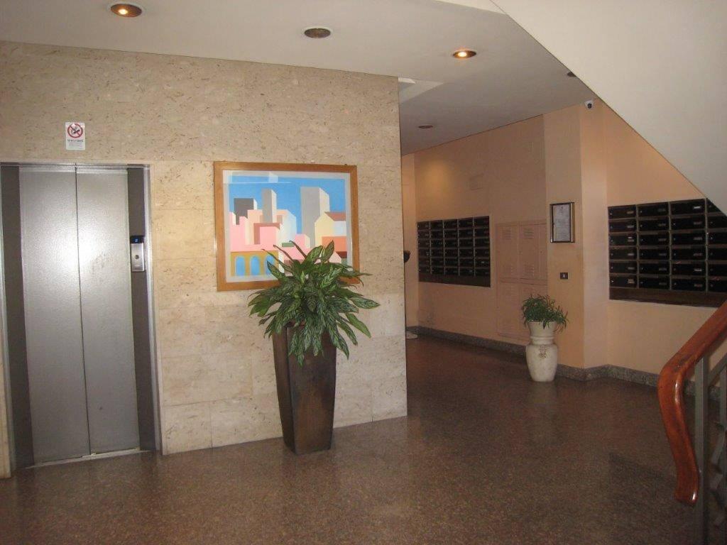 ingresso condominio ascensore