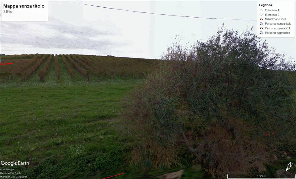 MENFI, Farming plot of land for sale of 33000 Sq. mt., Energetic class: G, composed by: , Price: € 120,000