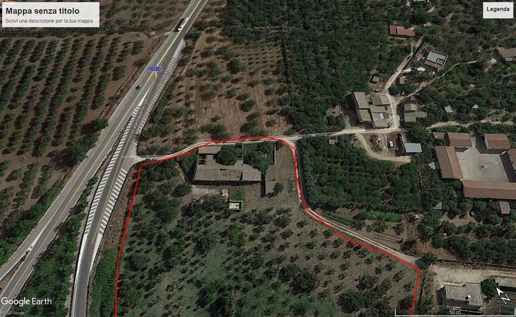 In Cda San Bartolo all'altezza dello svincolo che interseca con la fondovalle Sciacca - Palermo , proponiamo la vendita di un bellissimo casale