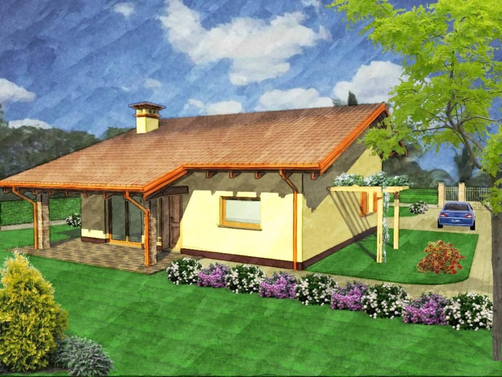 Villa, Salussola, in nuova costruzione