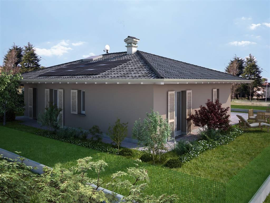 Vendita villa via saore osio sotto in nuova costruzione for Progetto ville moderne nuova costruzione