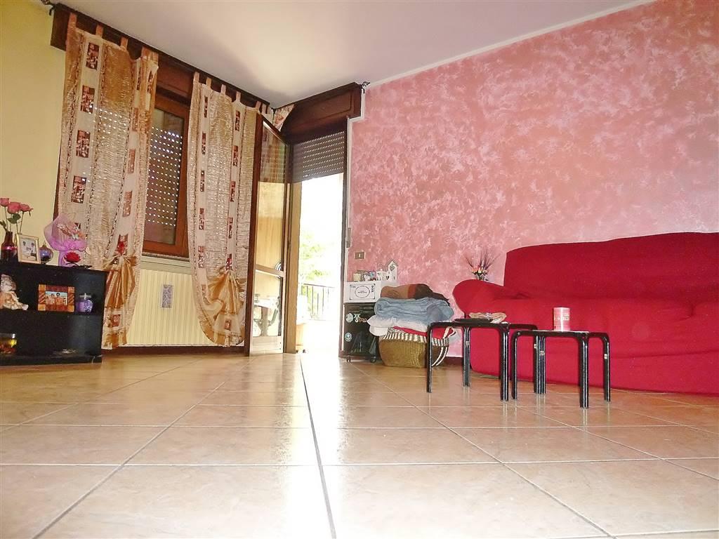 Appartamento quadrilocale a Cologno al Serio, spazioso e ben tenuto, posto al piano rialzato e composto da soggiorno, cucina separata, tre camere da