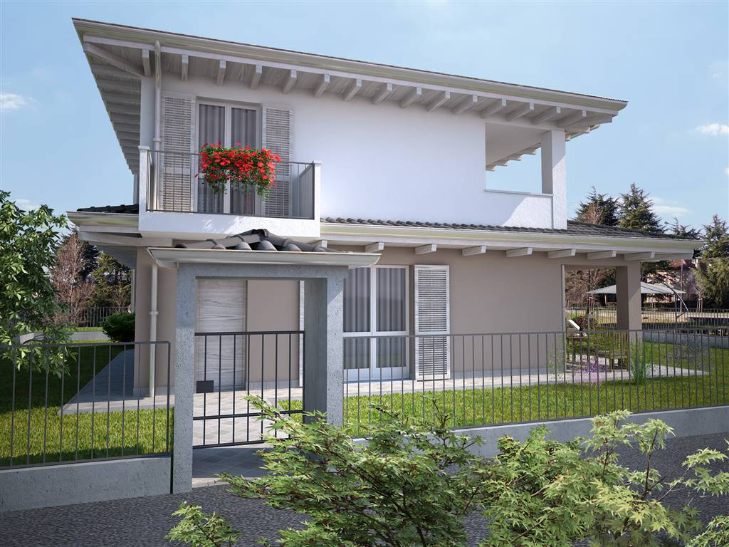URGNANO, Villa for sale of 136 Sq. mt., New construction, Heating Individual heating system, Energetic class: A4, placed at Ground on 1, composed by: