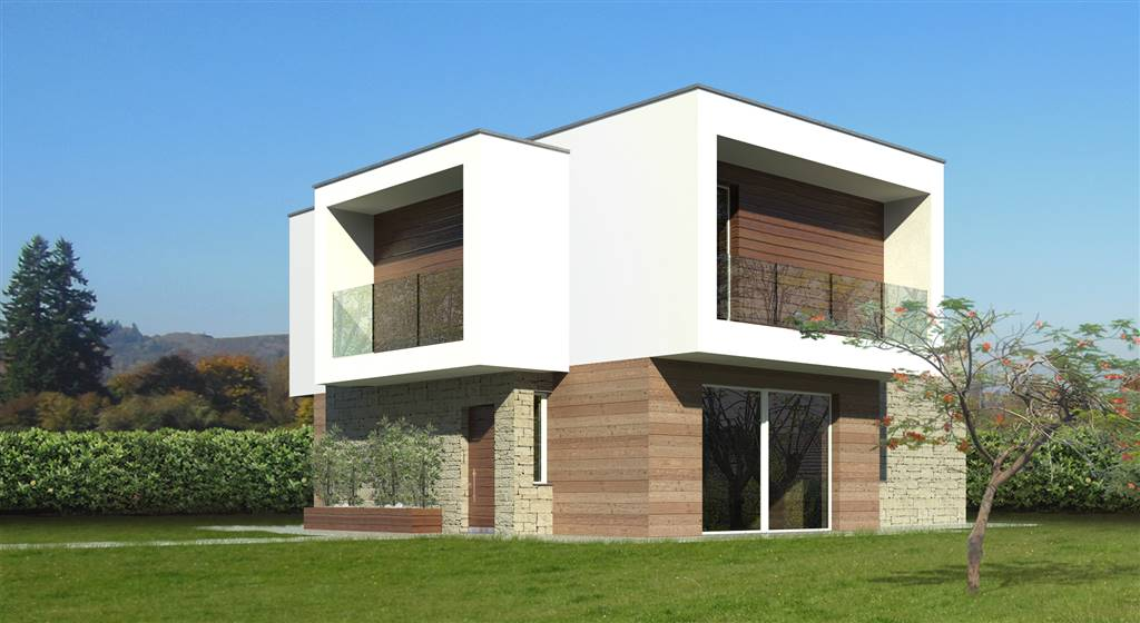 BRIGNANO GERA D'ADDA, Villa for sale of 197 Sq. mt., New construction, Heating Individual heating system, Energetic class: A4, composed by: 4 Rooms,