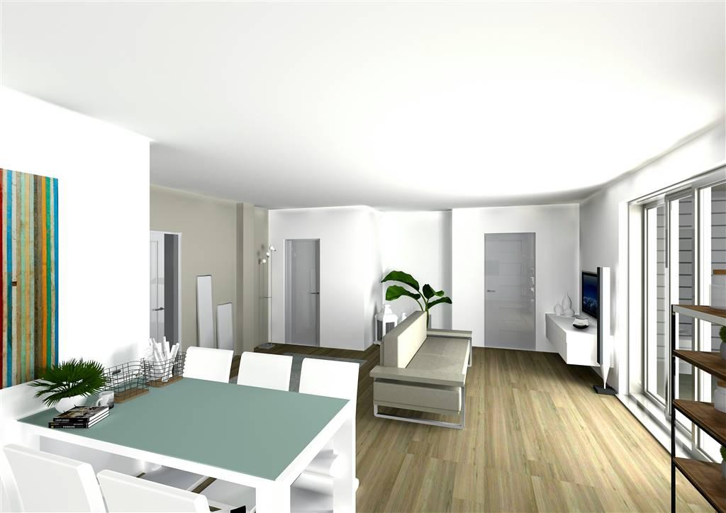 COLOGNO AL SERIO, Unabhängige Wohnung zu verkaufen von 115 Qm, Neubau, Heizung Bodenheizung, Energie-klasse: A1, am boden Land auf 1,