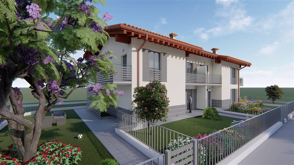 Nuova realizzazione in villa di sole 4 unità indipendenti proponiamo appartamento trilocale al piano Primo composto da grande area giorno di 40 mq